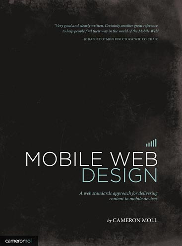 Mobile Web Design front cover
