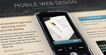 Image of Mobile Web Design site