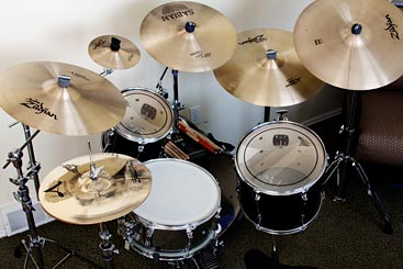 Cameron's drum kit