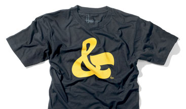 House Industries Ampersand Tees