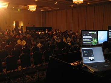 View from on stage at Web Design World Seattle