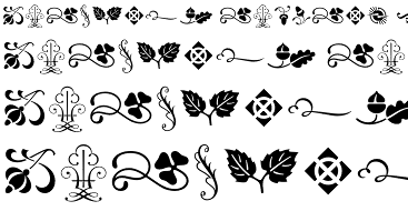 Type Ornaments One