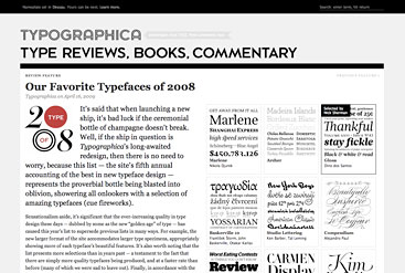 The new Typographica.org