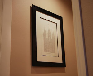 Framing your letterpress print ~ Authentic Boredom